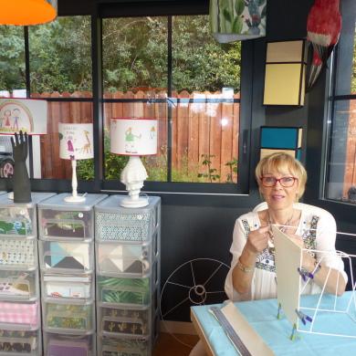 Atelier Abat-jour B & Déco 5 avenue des Pluviers le Pyla 33