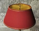 Lampe à poser restaurée par l'atelier Abat-jour B & Déco le Pyla