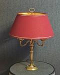 Belle restauration d'une lampe Bouillotte par Brigitte Boulet le Pyla en Gironde